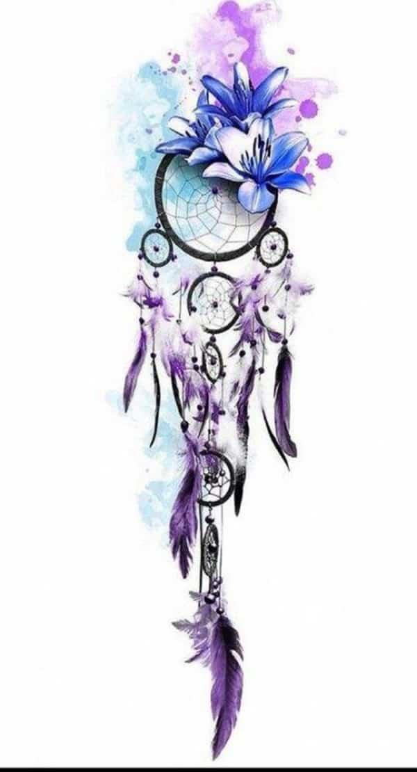 dreamcatcher tattoo design