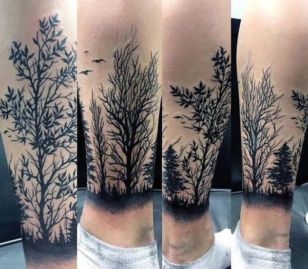 hình xăm cây