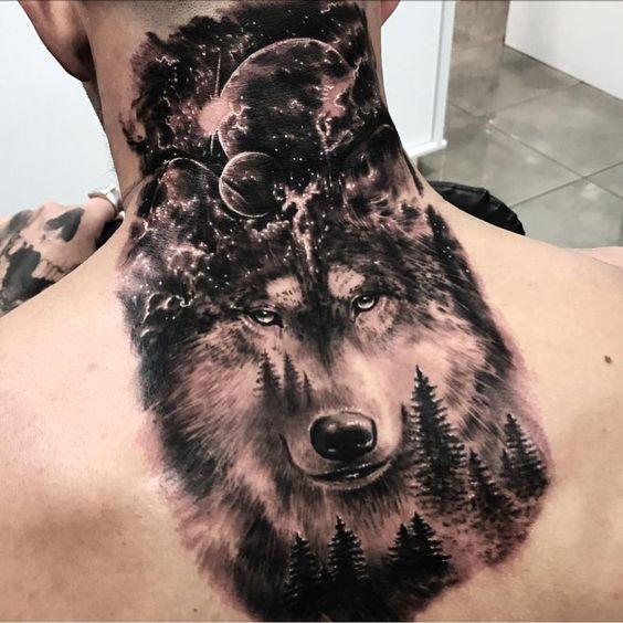 hình xăm chó sói mang ý nghĩa gì?