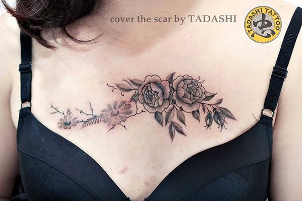 Bật mí ý nghĩa đằng sau hình xăm hoa mẫu đơn có thể bạn chưa biết | Tadashi Tattoo