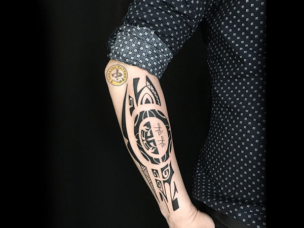họa tiết maori