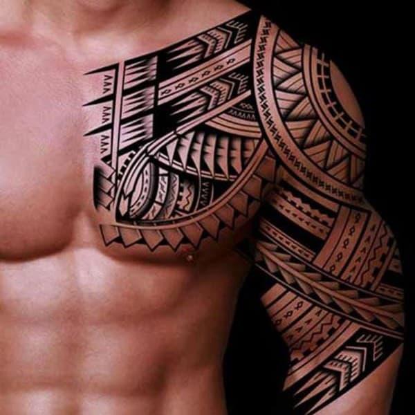 hinh xam maori dep