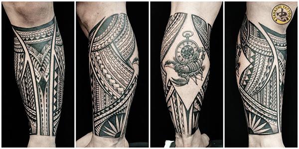 Hình xăm truyền thống Maori Samoa có nguồn gốc từ người Polynesia