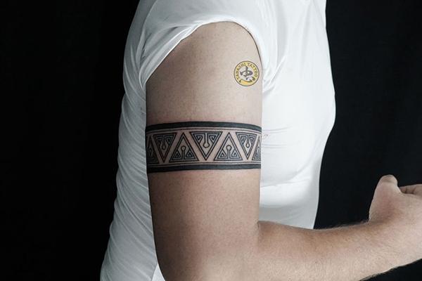 hình xăm hoa văn maori