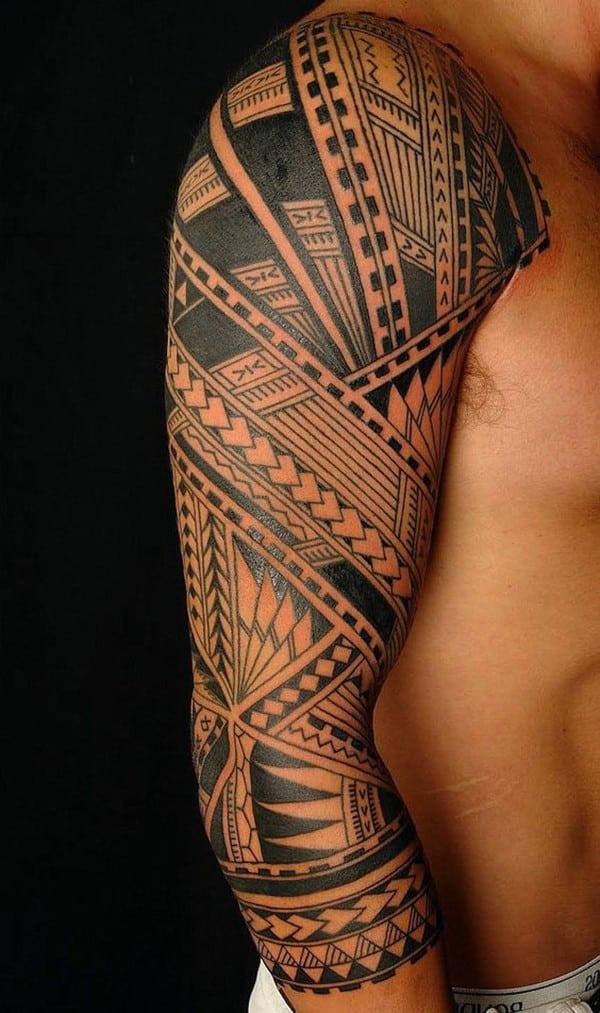 hình xăm maori