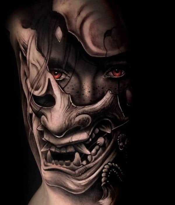 tattoo quỷ oni