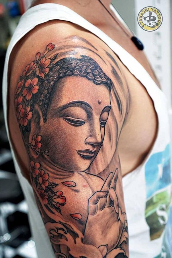 Phật trên tay