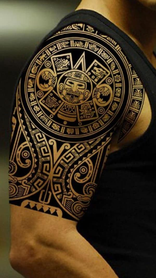 hình xăm samoa maori