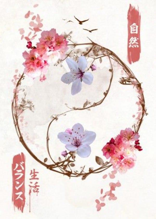 hình xăm tattoo hoa bỉ ngạn