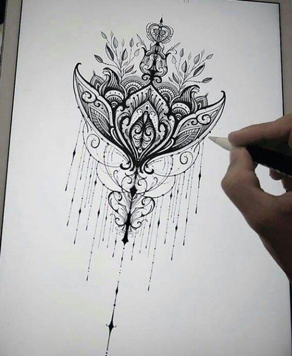 lotus-mandala-tattoo