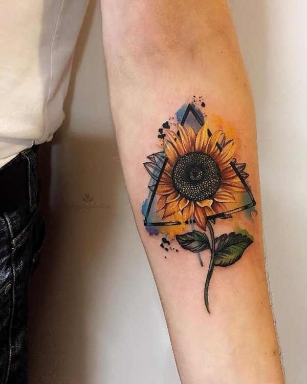 Mini-sunflower-tattoo