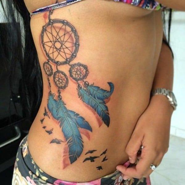tattoo dream catcher girly