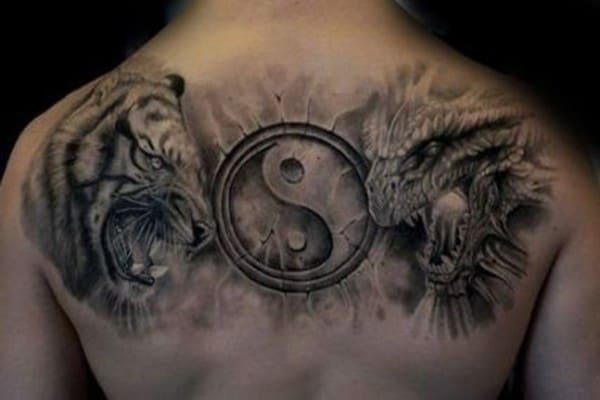 tattoo hình bát quái