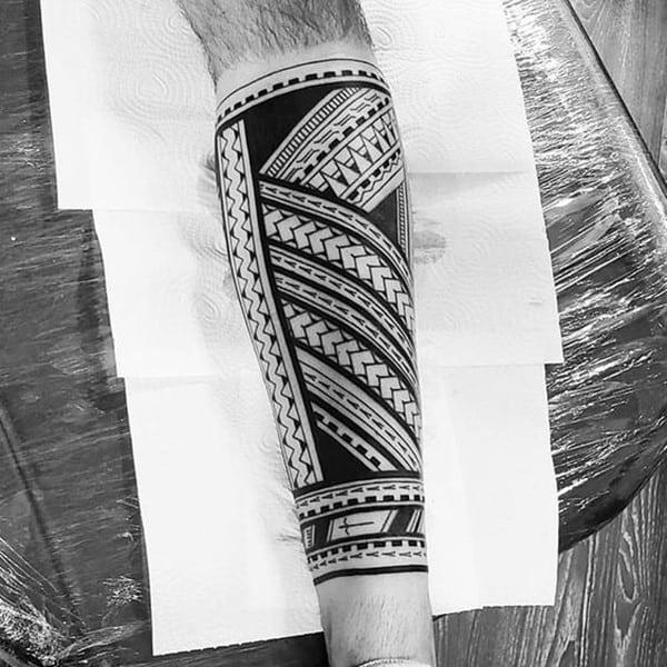 thiết kế hình xăm maori