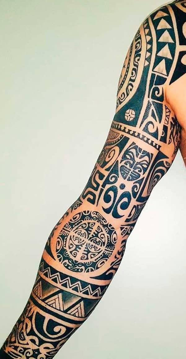 thiết kế hình xăm maories đẹp