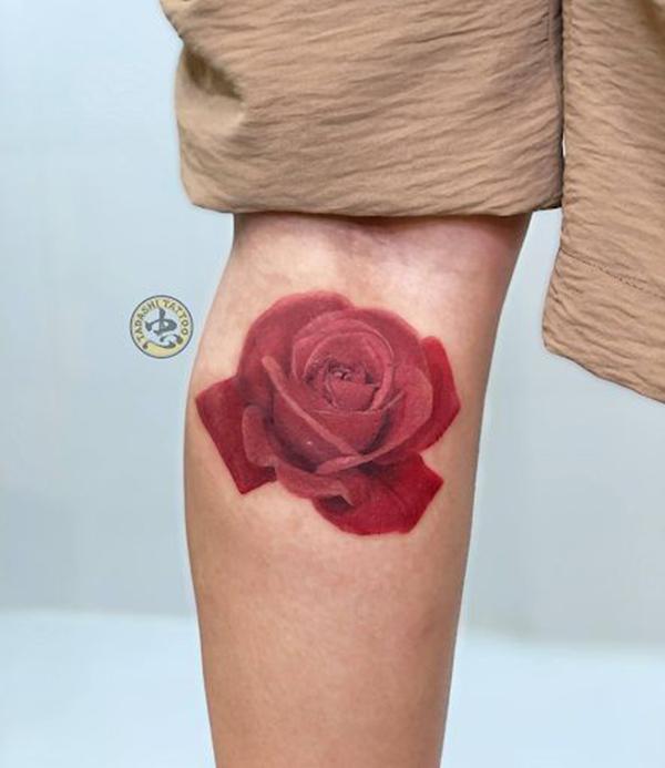 hình xăm hoa hồng đẹp