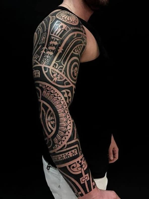xăm maori