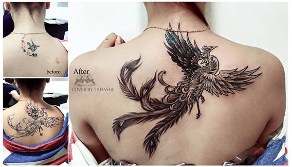 Chim phượng hoàng biểu tượng cho sức sống mãnh liệt