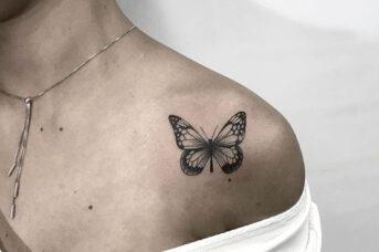 ý nghĩa hình xăm bươm bướm là gì?