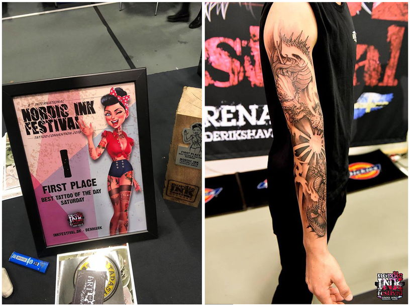 """""""Best Tattoo Of The Show"""""""