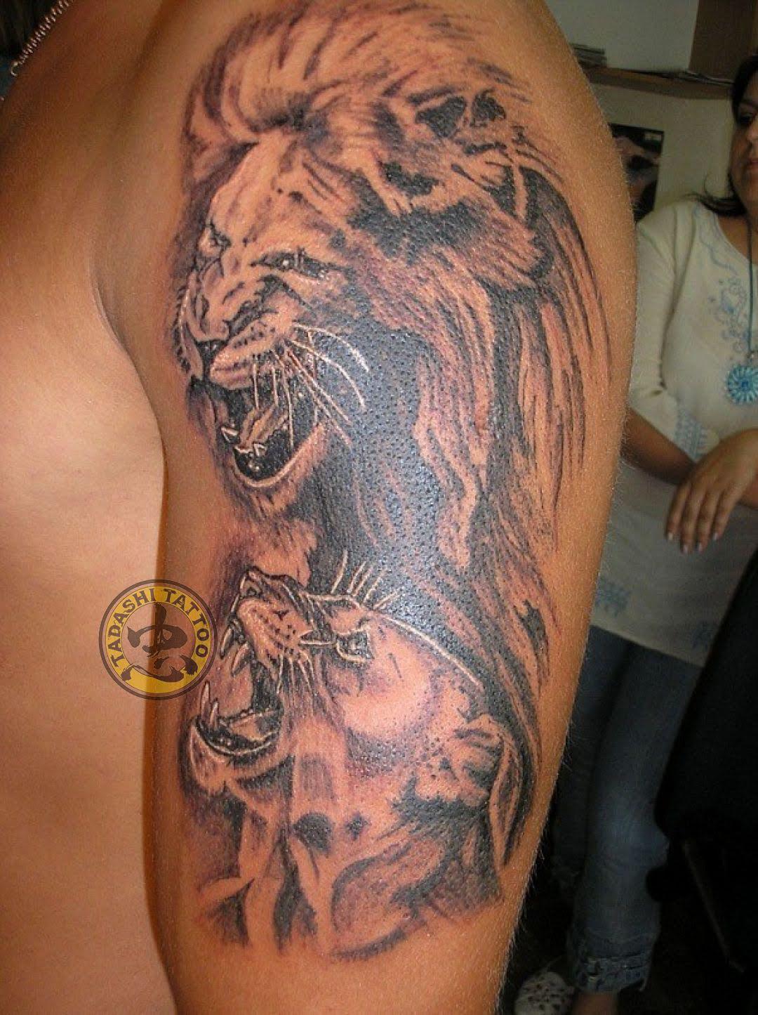 đầu sư tử đại diện cho cung với sự dũng mãnh quyền lực