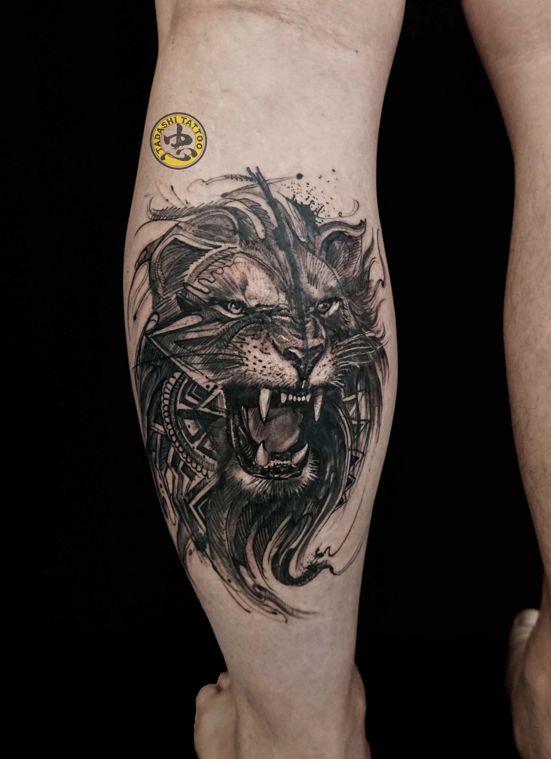 Các yếu tố cần cân nhắc khi chọn hình xăm sư tử