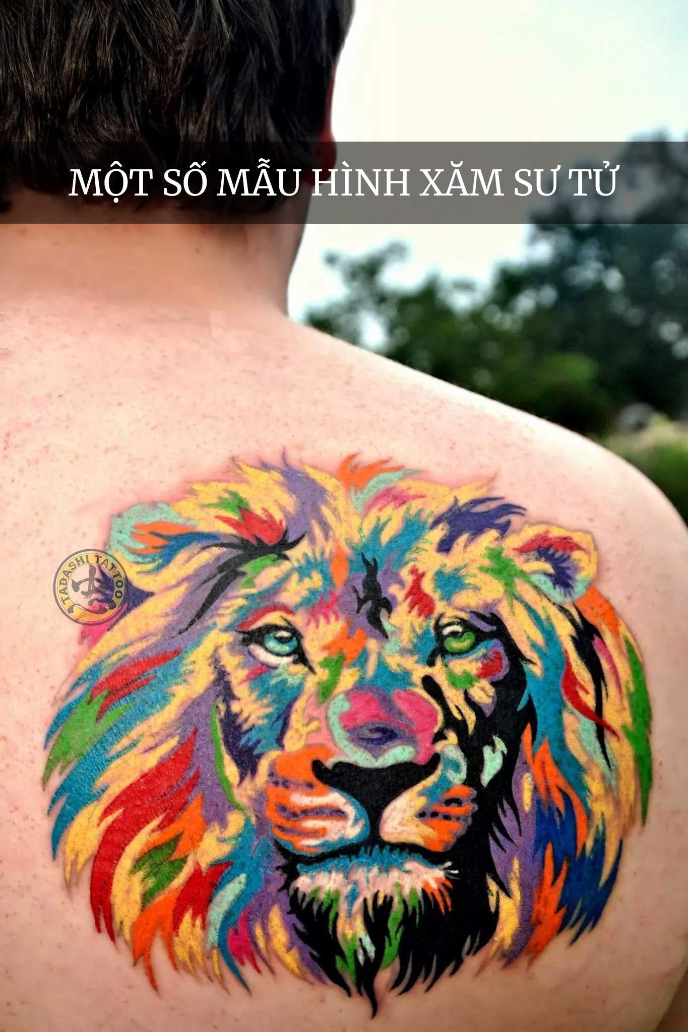 Cách chọn hình xăm sư tử cho nam và nữ