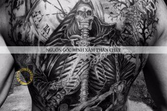 hình xăm thần chết