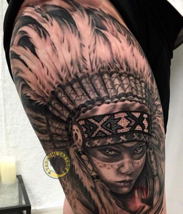 Một mẫu hình xăm thổ dân ngay tại phần hông sẽ giúp bạn nữ trông sexy, quyến rũ và thu hút hơn