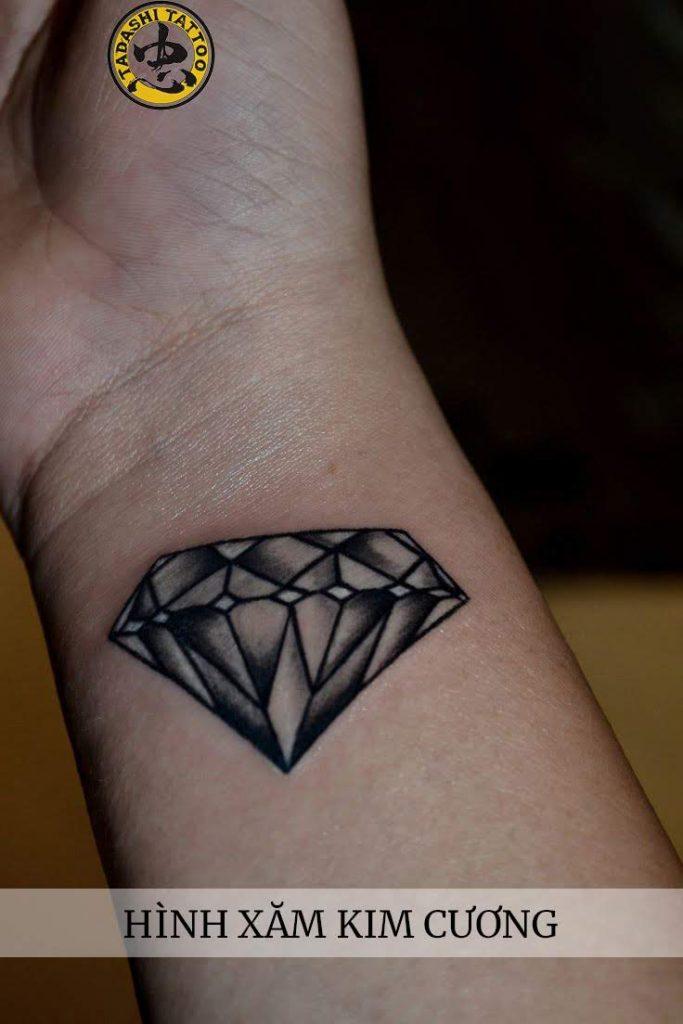 hình xăm kim cương đẹp nhất