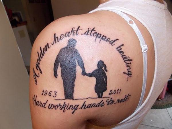 hình xăm cha mẹ ý nghĩa