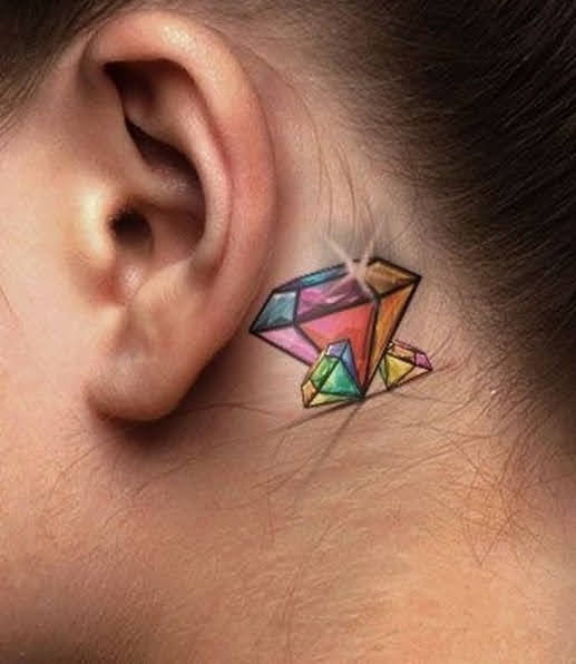 hình xăm kim cương ở tay