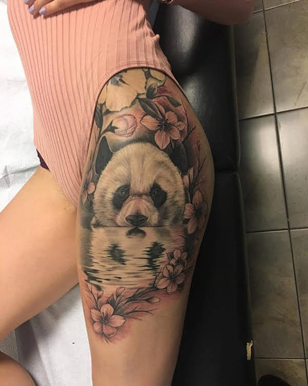 hình xăm panda đẹp nhất