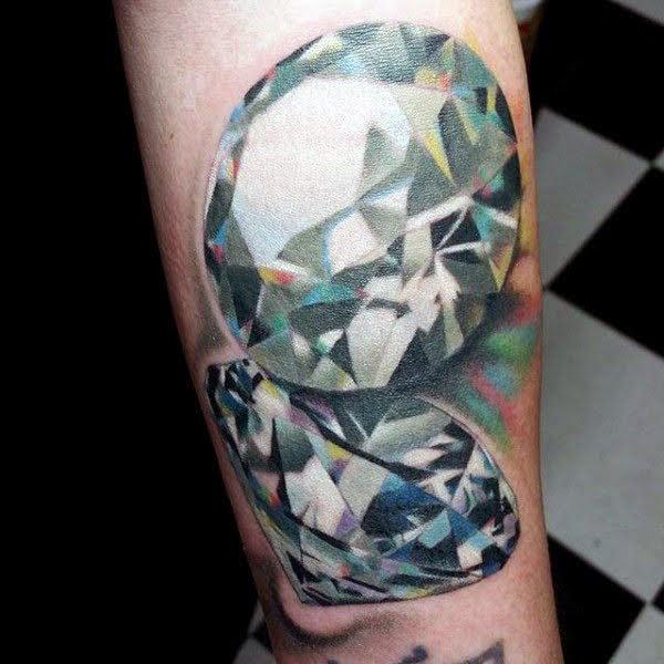 ý nghĩa xăm hình viên kim cương