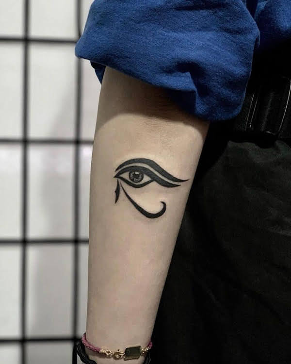 hình xăm mắt thần horus ai cập