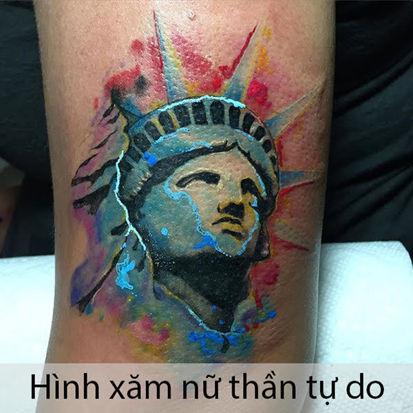 hinh xam nu than tu do